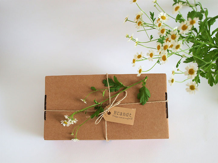 Sojakaarsen Cadeau Verpakking Brandt Kaarsen