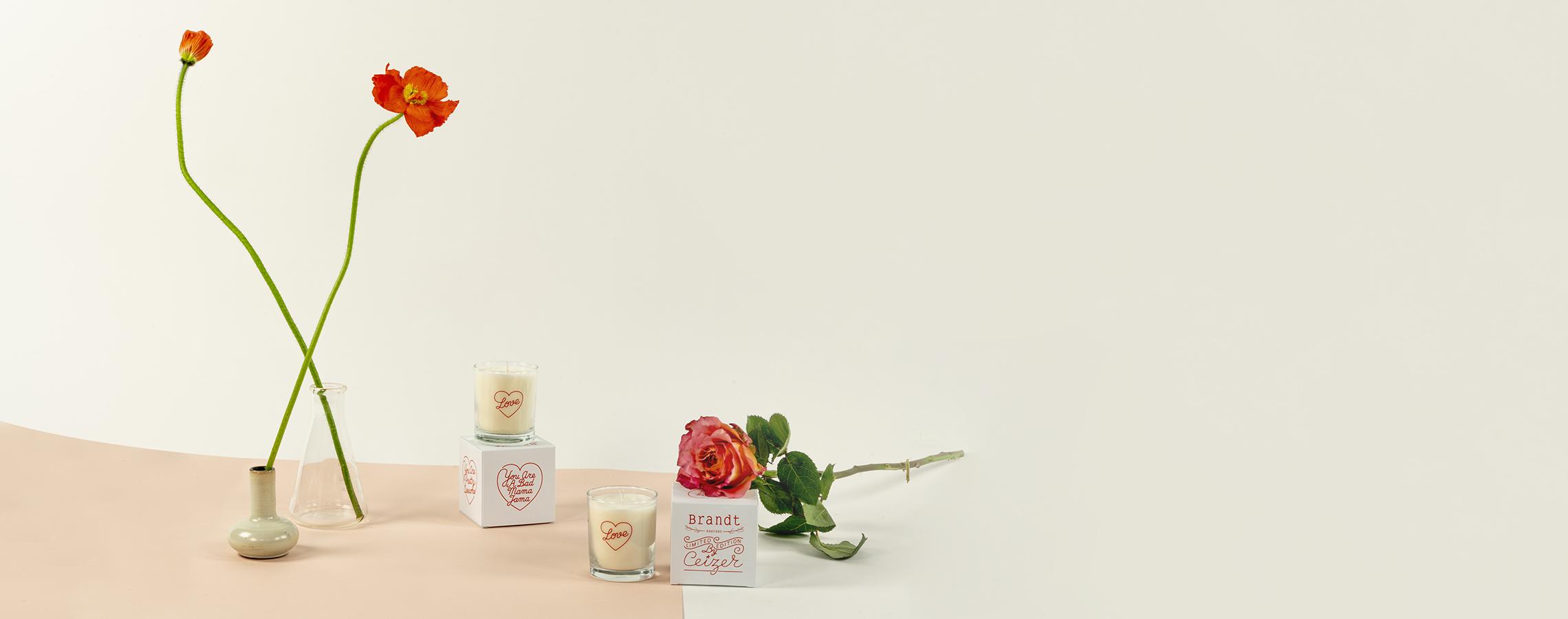 Samenwerking Pieter Ceizer x Brandt kaarsen