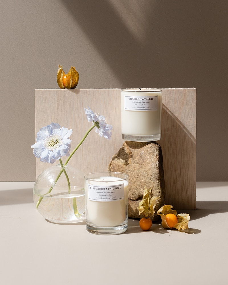 Brandt candles wood collection