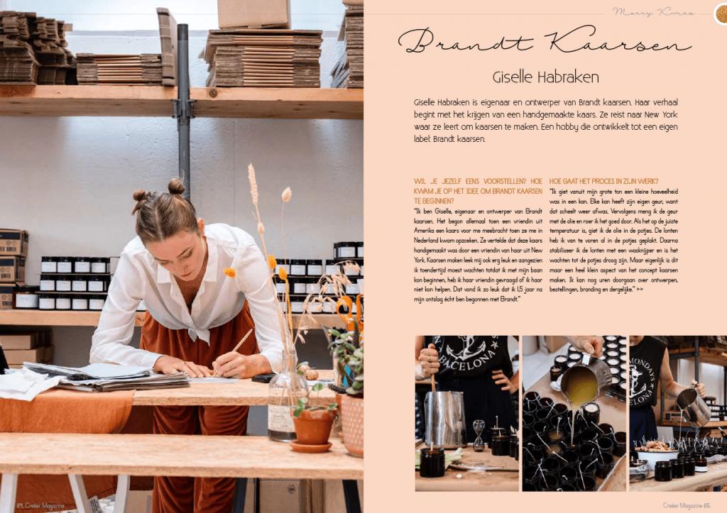 Brandt kaarsen - Creëer Magazine