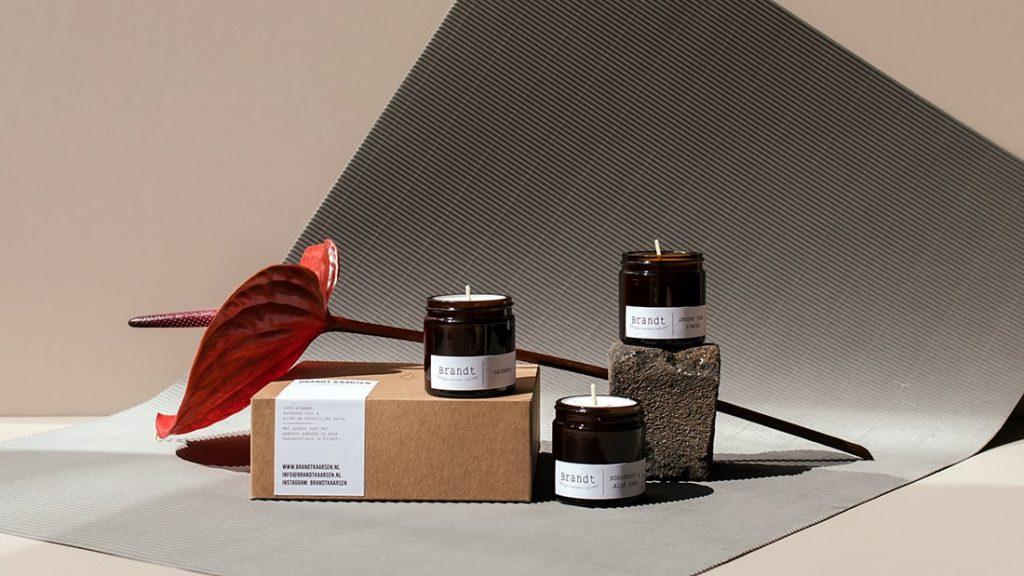 Kaarsen Collectie Sample Set Brandt